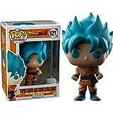Funko - Figurine Dragon Ball Z - Super Son Goku God Blue Exclu Pop 10cm - 0849803097103 by