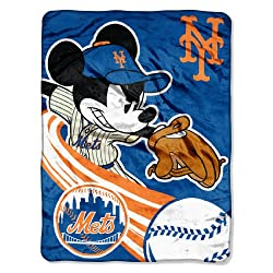 Mickey Mouse New York Mets Blanket