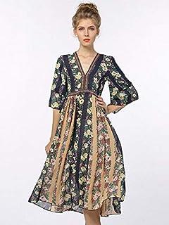 فستان كاجوال قصة واسعة للنساء
