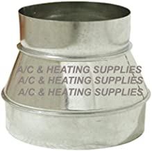 Single Wall Galvanized Metal Duct Reducer 7