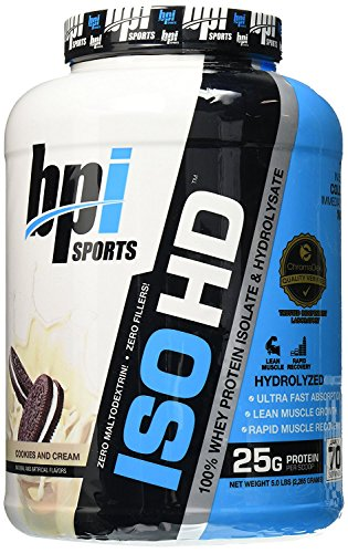 BPI Sports 2.27 kg ISO-HD Cookies and Cream