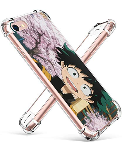 Allsky Case for iPhone 6/6s Plus 5.5', Clear Cartoon Design Pattern Soft Cute Fun Fashion Ultra-Thin Cover, Kawaii Kids Teens Skin Creative Shockproof Funny Cases for iPhone 6/6s Plus Cherry Tree