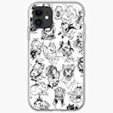 Case Clow iPhone Sakura De Cartas| Unique Design Snap Phone Case Cover for iPhone11 | TPU Shockproof Interior Protective