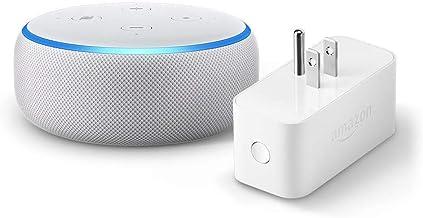 Echo Dot (3rd Gen) bundle with Amazon Smart Plug - Sandstone