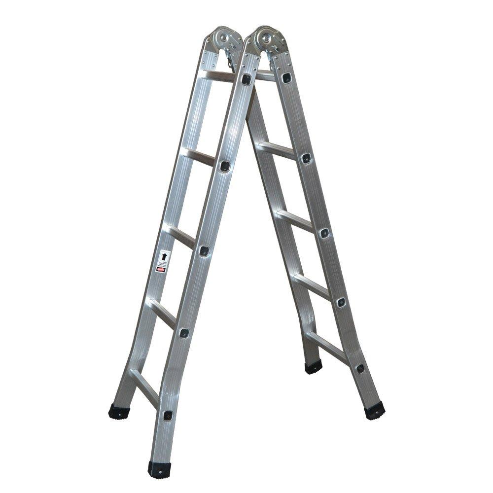 Kormax AM0510 Escalera de Tijera Industrial: Amazon.es: Bricolaje y herramientas