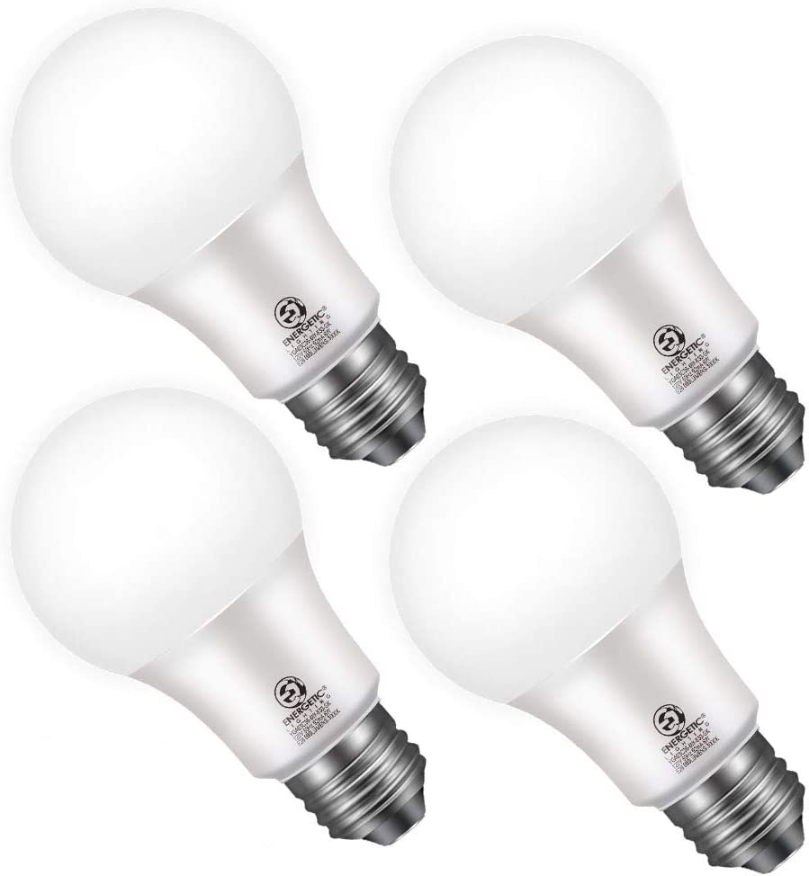 25 10 Pack LED Dusk to Dawn Outdoor Light Bulb, 10 Watt Equivalent, 10LM, Cool  White 10000K, E10 Base, Automatic On/Off for Porch, Hallway, Garage, UL ...