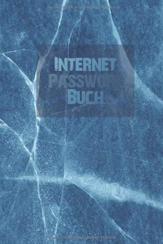 Internet Passwort Buch: Marmor Optik Notizbuch für sämtliche Zugangsdaten und Passwörter