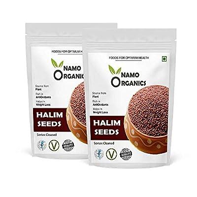 Vallejo 1800 Gm Organic Halim Aliv Seeds for Eating & Hair Growth - (Super Saver Pack)