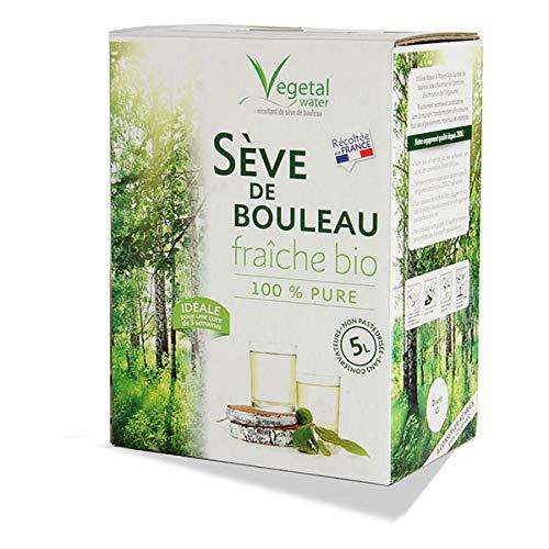 VEGETAL WATER - Sève De Bouleau Fraîche Bio Bib De 5L - L'unité