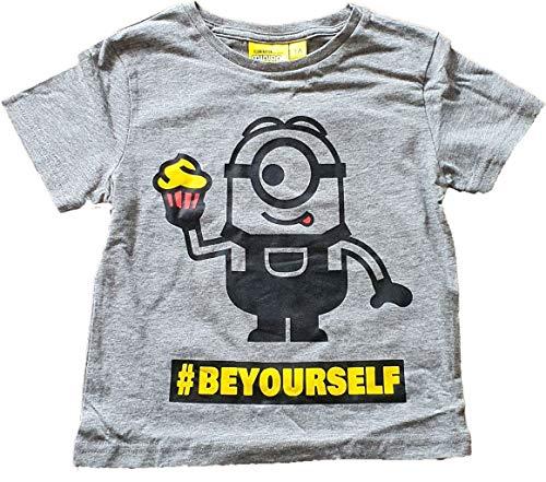 Minions Ich einfach Unverbesserlich T-Shirt La Banana Grau 116 (6 Jahre)