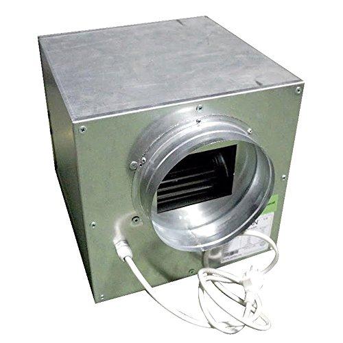 Aspiratore Cassonato in Acciaio SUPERSILENZIATO 55x55cm 2x250/315cm - 4250 m3/h
