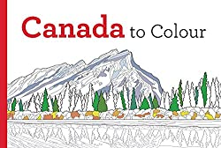 canada to colour coloring book