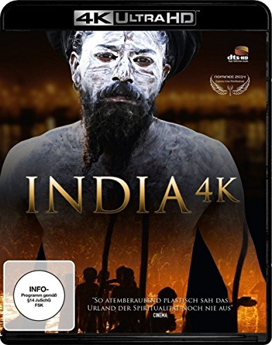 India 4K (4K Ultra HD Blu-ray + Blu-ray 3D, Special Edition)
