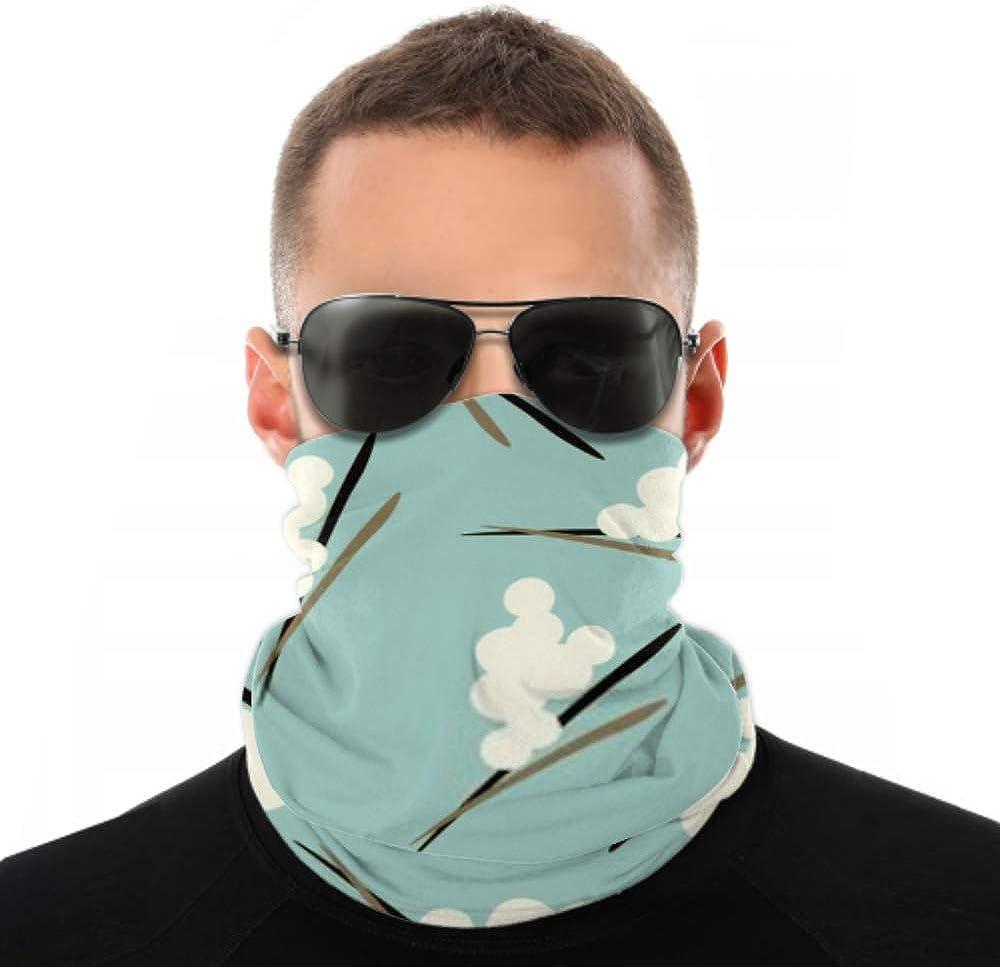 Headbands For Men Women Neck Gaiter, Face Mask, Headband, Scarf Berry Seamless Pattern Turban Multi Scarf Double Sided Print Yoga Headband For Sport Outdoor