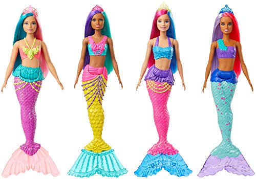 Barbie Sirena Dreamtopia Surtido/Modelo Aleatorio (Una Unidad)(Mattel GJK07)