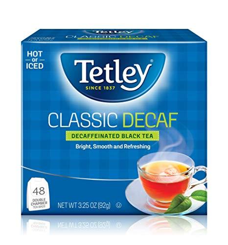 Tetley Classic Decaffinated Black Tea, 48 Tea Bags (Pack of 6)