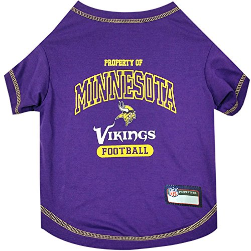 Pets First Minnesota Vikings T-Shirt, Small