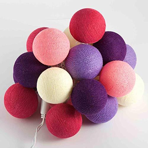 LED Luz Cadena Hada Luces pelotas de Candy Shop 20luces