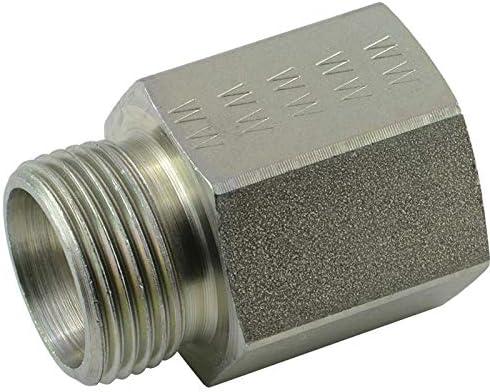 Reduziernippel mit Metrisch-Zöllig Gewinde bis 315 bar Hochdruckfittinge
