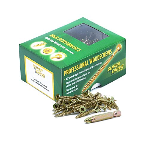 SEQUAL® Box of 200 High Performance Multi Use Wood Screws...