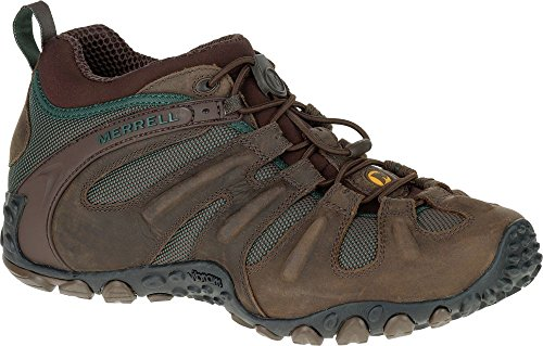 Merrell Chameleon II Stretch J559601 Trekkingschuhe Outdoorschuhe Herren Neuhait Braun J559601-41.5