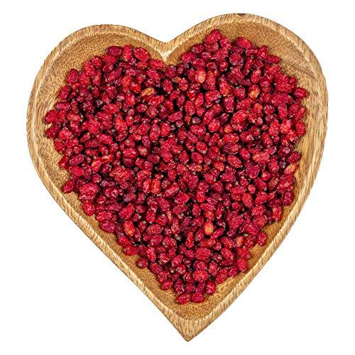 Snackberries Berberitzen Naturell | Premium Qualität | Neue Ernte | Unbehandelt | knallrot | 1 kg