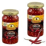 Conimex Sambal Oelek Lot de 2, Chili, pâte à Sauce, Sauce, Épices, Scharf Indonésien, 375g