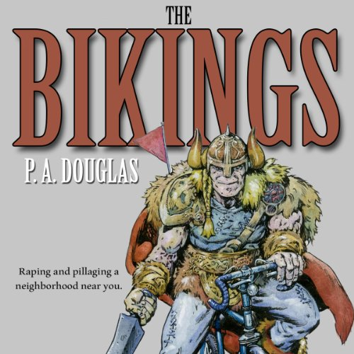 The Bikings audiobook cover art