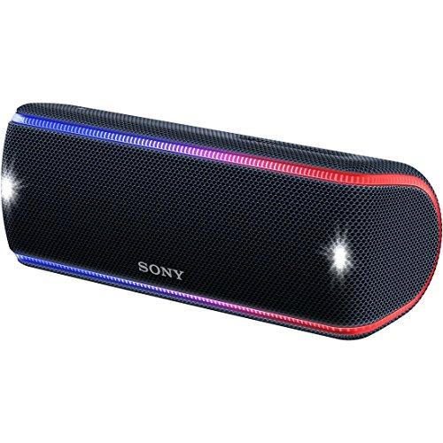 ソニー SONY ワイヤレスポータブルスピーカー SRS-XB31 B : 防水/防塵/防錆/Bluetooth/専用スマホアプリ対...