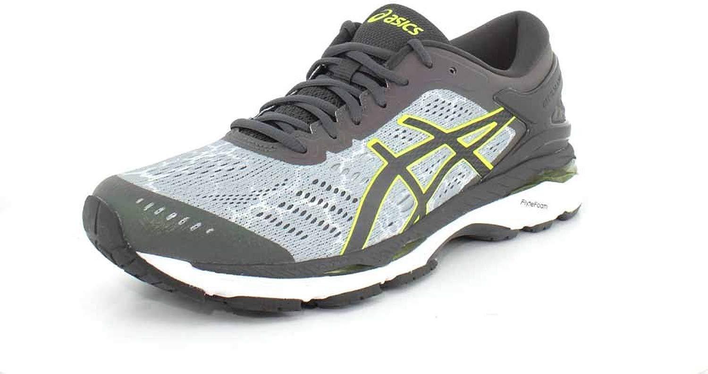 ASICS Mens Kayano 24 Lite Mid grigio Dark grigio Safety gituttio correrening sautope - 9