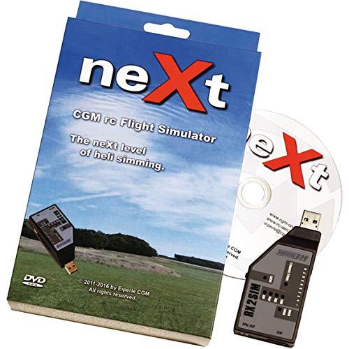 neXt CGM RC Heli Flugsimulator inkl. RX2SIM