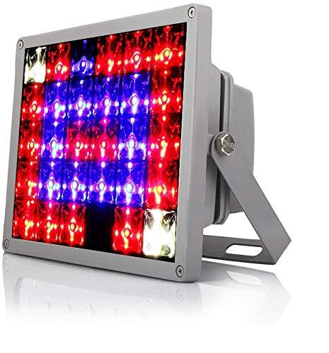 TENDERNESS Pflanzenwachstumslampe Pflanze Licht LED-Flut-Licht-Betriebslicht 60W Vollbereich- Spectrum Sukkulente Blume Indoor Lattice Wasserdicht Fill-Licht-60W_Full_Spectrum