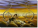 YUSHIJIA Rompecabezas de los niños Amous Pintor Salvador Dalí Puzzles de 1000 Piezas en Madera Interesante Resumen Famoso Cuadro Rompecabezas decoración del hogar 50x75cm