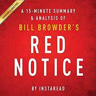Red Notice by Bill Browder: A 15-minute Summary & Analysis cover art