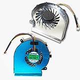Bucom Ventilateur pour MSI GE62 GL62 GE72 GL72 GP62 GP72 PE60 PE70 4 Broches