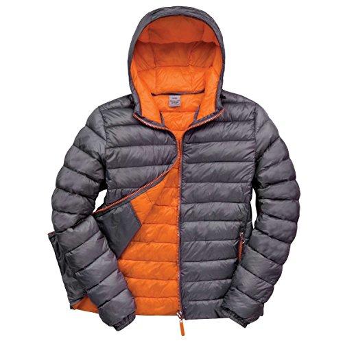 Result Urban Snowbid Herren Steppjacke/Winterjacke (Large) (Grau/Orange)