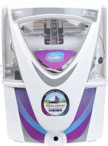Aqua Grand+ Aqua Red Candy RO+UV+UF+TDS with Latest Mineral Cartridges 17 ltrs Water purifiers