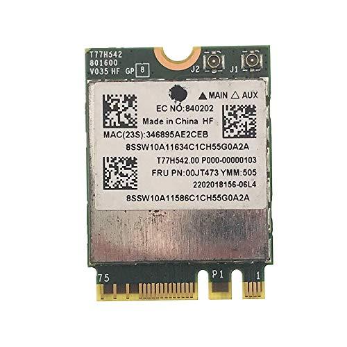 Miwaimao BCM943162ZP AC WLAN Card 2.4G&5G 433M WiFi +Bluetooth 4.0 NGFF FRU 00JT473 for Lenovo G50-30 45 70 70M Z50-70-75 E455 E555