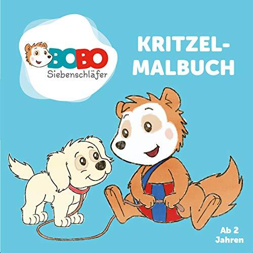 Bobo Siebenschläfer Kritzelmalbuch - ab 2 Jahren