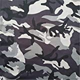 Souarts Camouflage Serie Tarnfarben Stoff Patchwork DIY