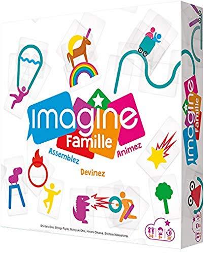 Imagine Famille - Asmodee - Jeu de société - Jeu d ambiance - jeu d imagination