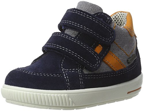 Superfit Baby Jungen Moppy Surround Sneaker, Blau (Ocean Kombi), 20 EU