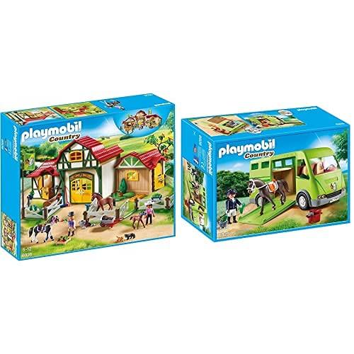Playmobil Country Payset, Granja De Caballos,...