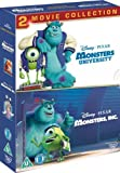 Monsters University / Inc Collection [Reino Unido] [DVD]