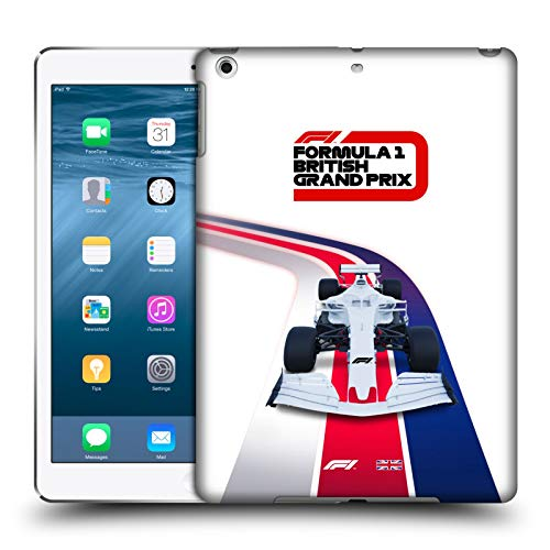 Official Formula 1 F1 Britain Grand Prix World Championship Hard Back Case Compatible for Apple iPad Air (2013)