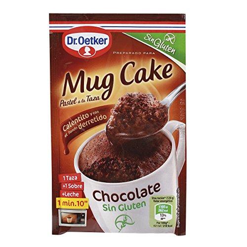 Dr. Oetker - Chocolate Mug Cake, Sin Gluten, 1 unidad