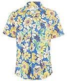 Hartford Men's Slim Fit Floral Slam Shirt Multi Coloured M