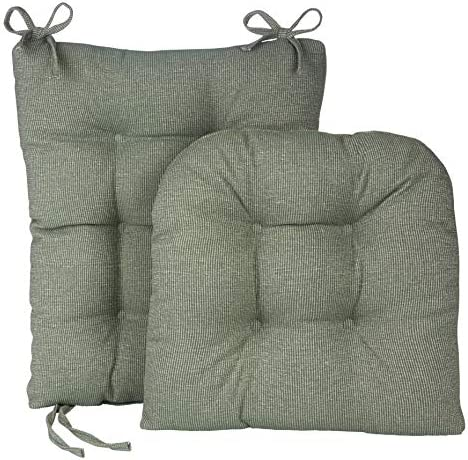 Best Klear Vu Gripper Jumbo Saturn Rocking Chair Cushion Set, Celadon