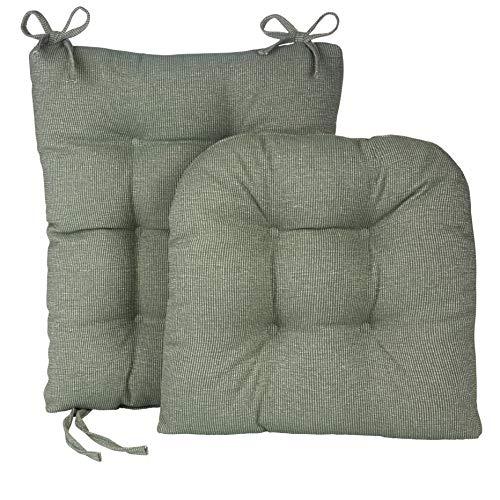 Klear Vu Gripper Conjunto de Almofada para Cadeira de Balanço Jumbo Saturno, Celadon, 1
