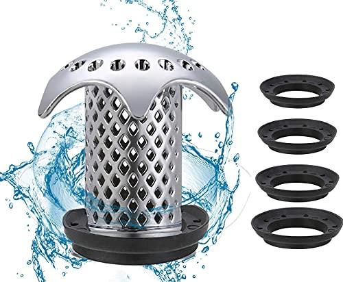 Waschbecken Abflusssieb Dusche Sieb Abfluss Haarsieb Schutz Badewanne, Waschbecken Verstopfen der Haare zu Verhindern